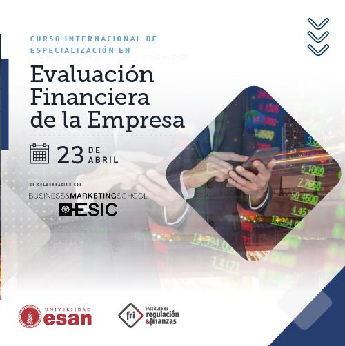 Curso de Especialización en Evaluación Financiera de la Empresa