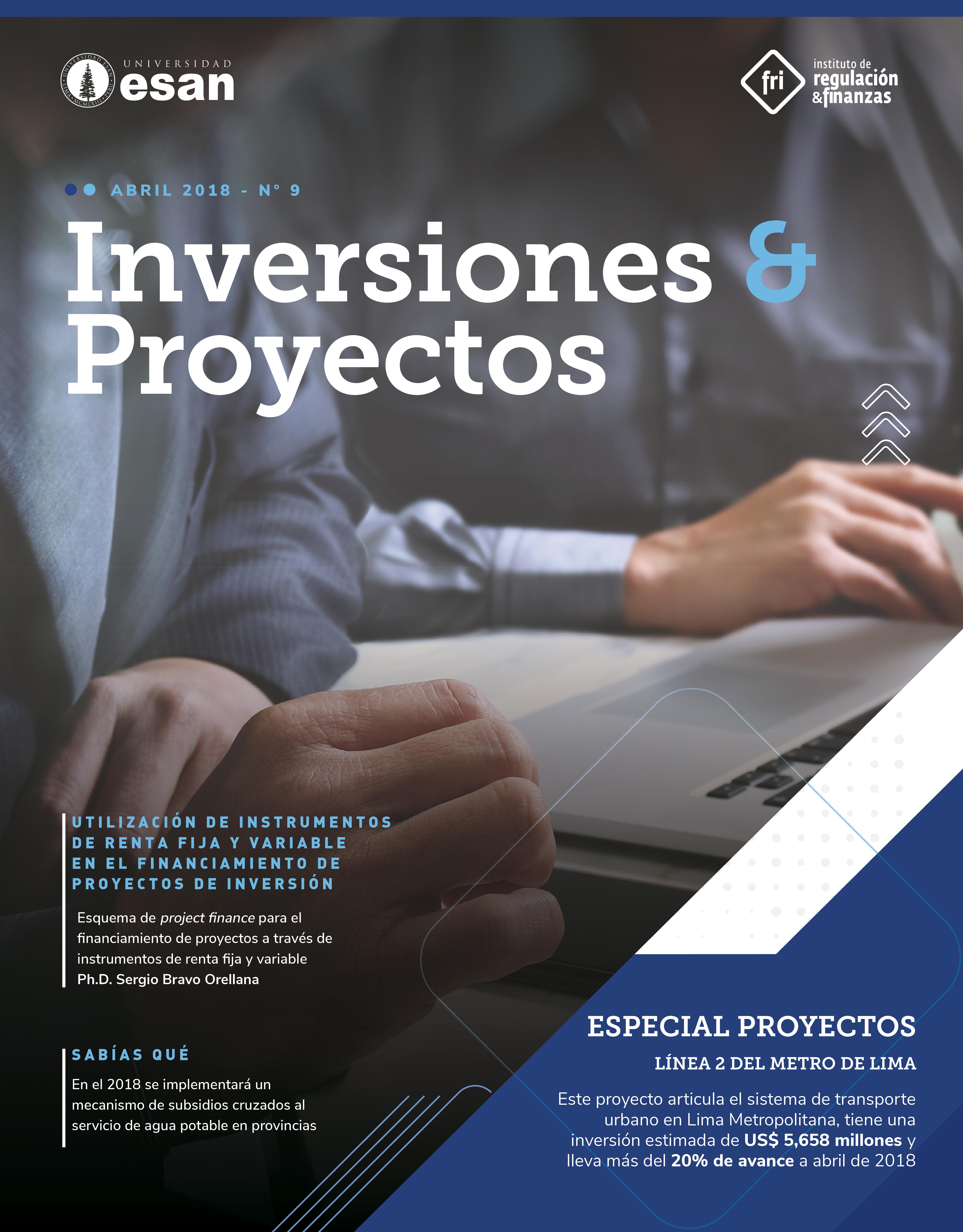 Revista Inversiones y proyectos 2018