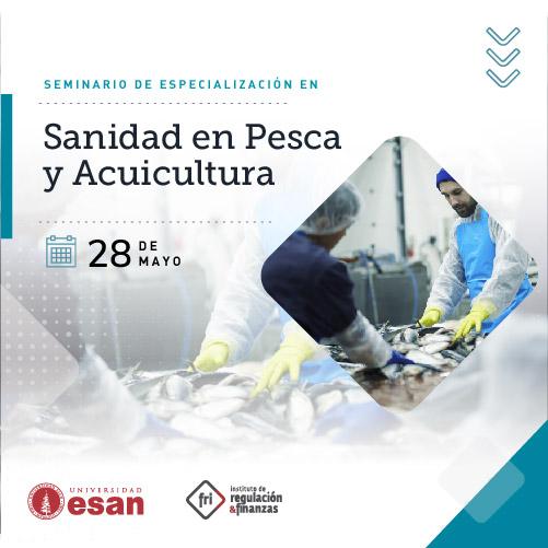 Seminario de Especialización en Sanidad en Pesca y Acuicultura