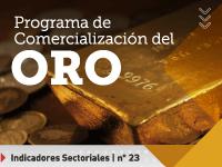Programa de comercialización del oro