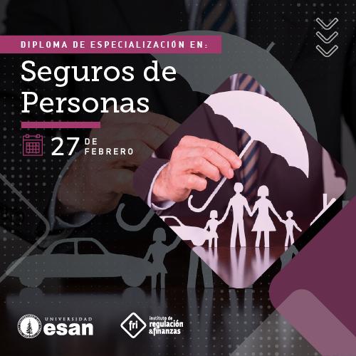 DIPLOMA DE ESPECIALIZACIÓN EN SEGUROS DE PERSONAS