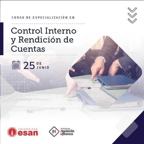 Curso de Especialización en Control Interno y Rendición de Cuentas