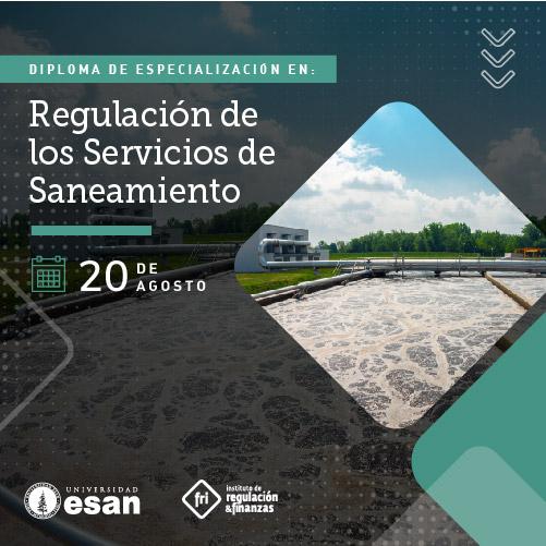 Diploma de Especialización en Regulación de los Servicios de Saneamiento