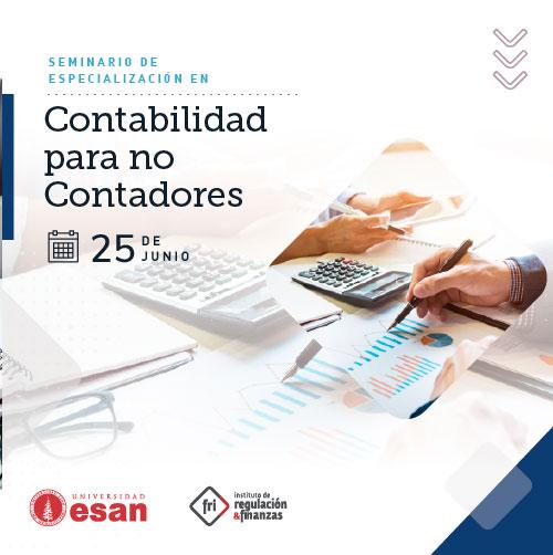 SEMINARIO DE ESPECIALIZACIÓN EN CONTABILIDAD PARA NO CONTADORES