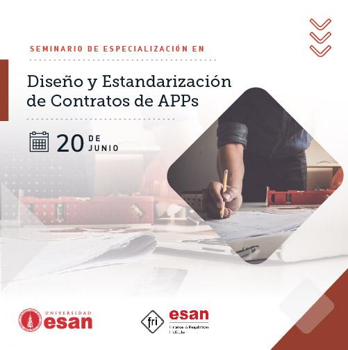 Seminario de Especialización en Diseño y Estandarización de Contratos de APPs