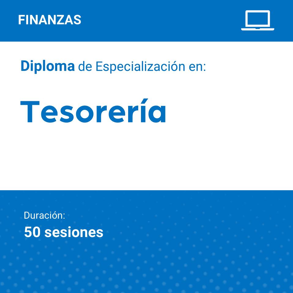 Diploma de Especialización en Tesorería
