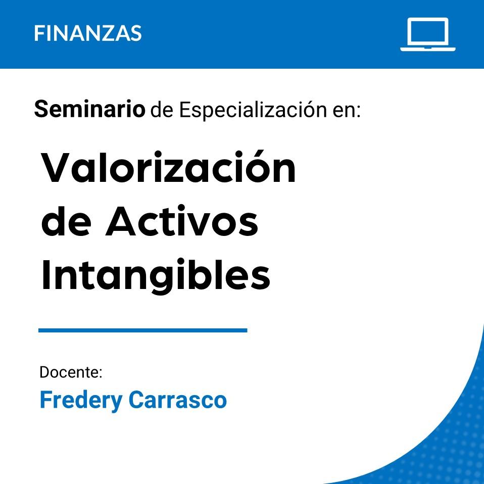 Seminario de Especialización en Valorización de Activos Intangibles