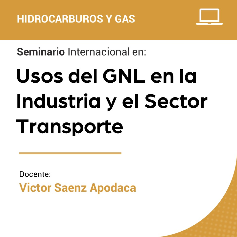 Seminario Internacional en Usos del GNL en la Industria y en el Sector Transporte