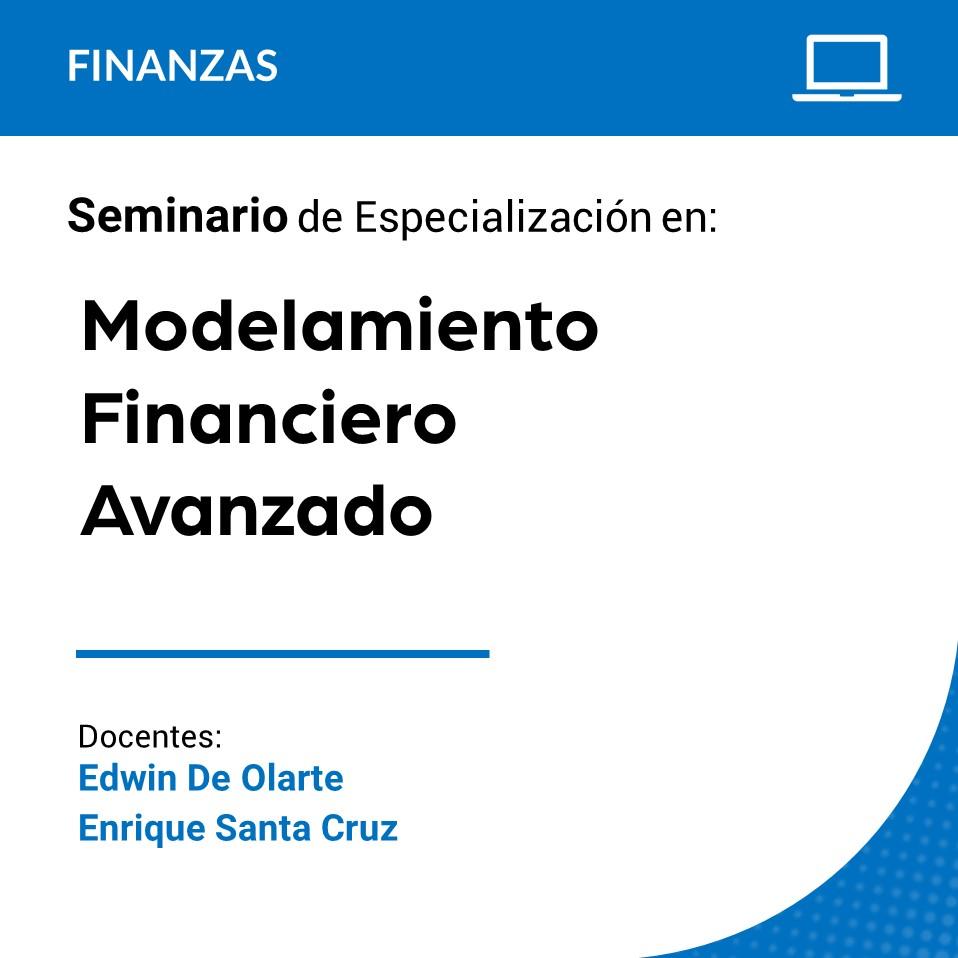 Seminario de Especialización en Modelamiento Financiero Avanzado
