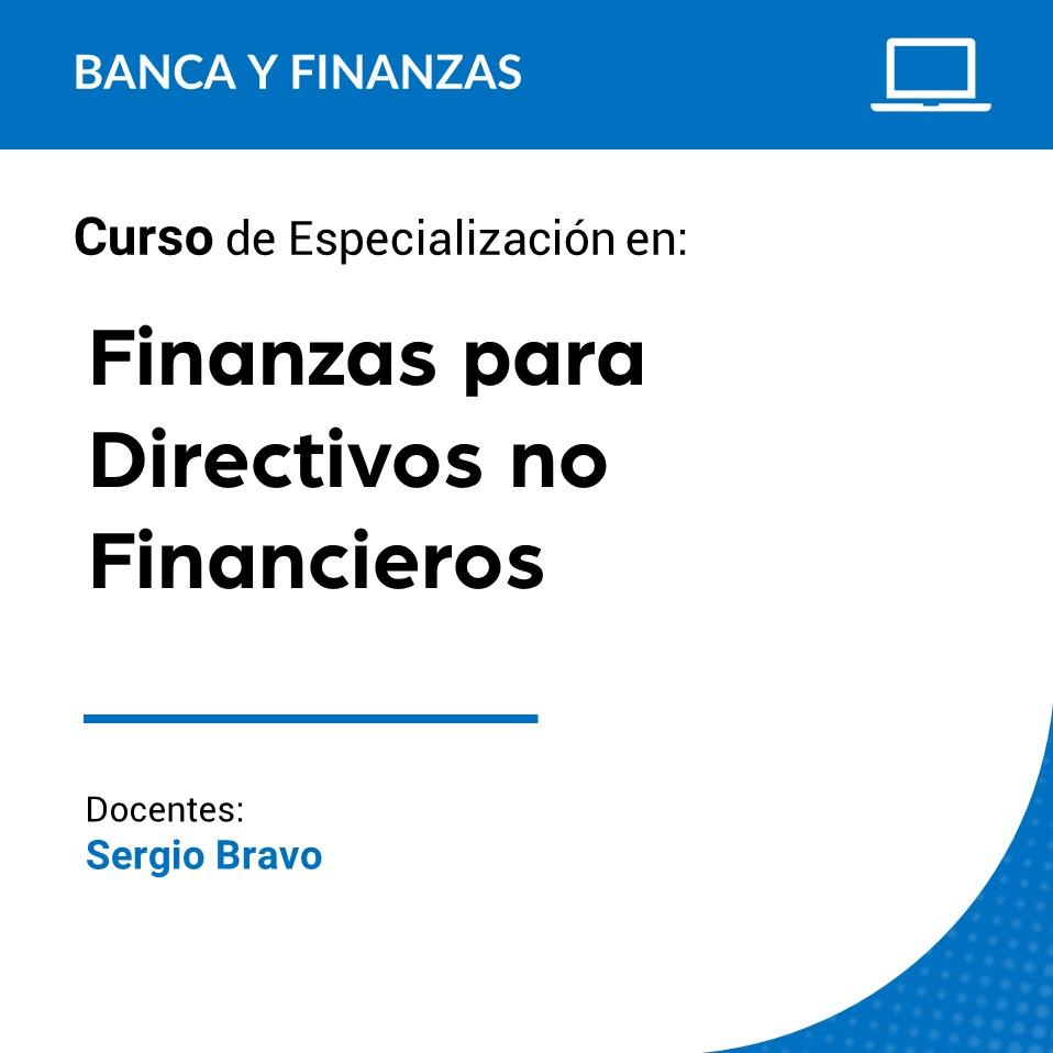 Curso Virtual de Especialización en Finanzas para Directivos No Financieros