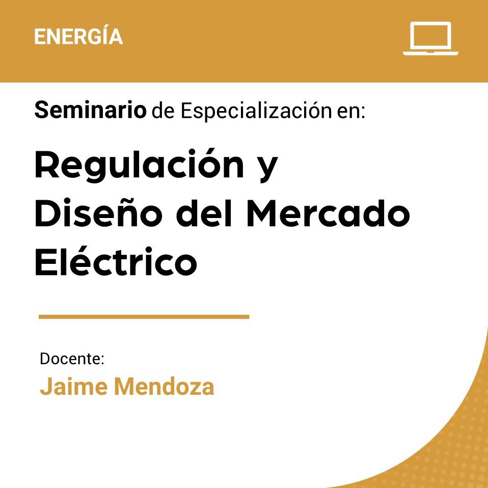 Seminario de Especialización en Regulación y Diseño del Mercado Eléctrico