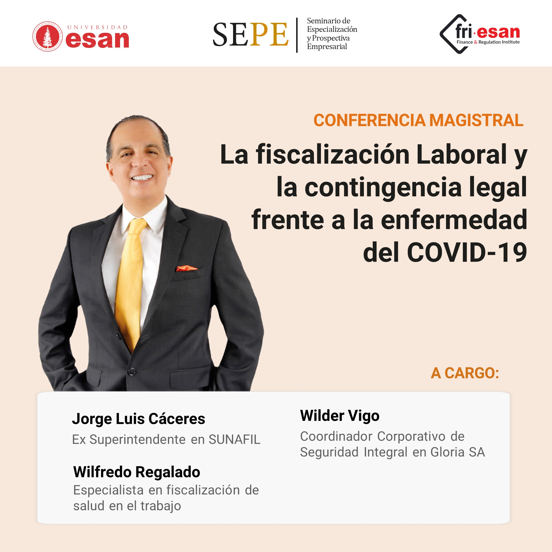 La fiscalización Laboral y la contingencia legal frente a la enfermedad del COVID-19