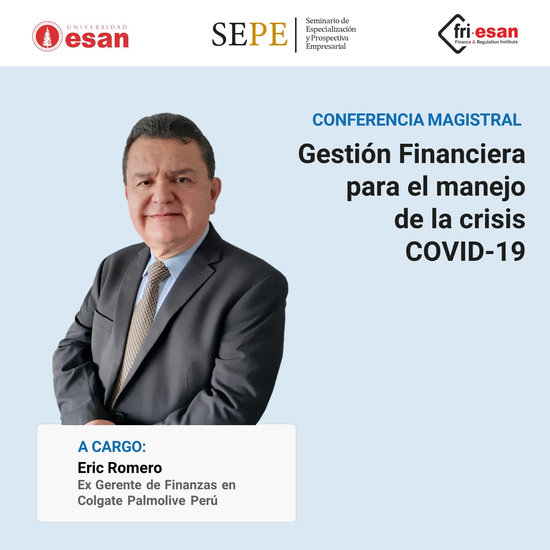 Gestion Financiera para el manejo de la crisis COVID-19