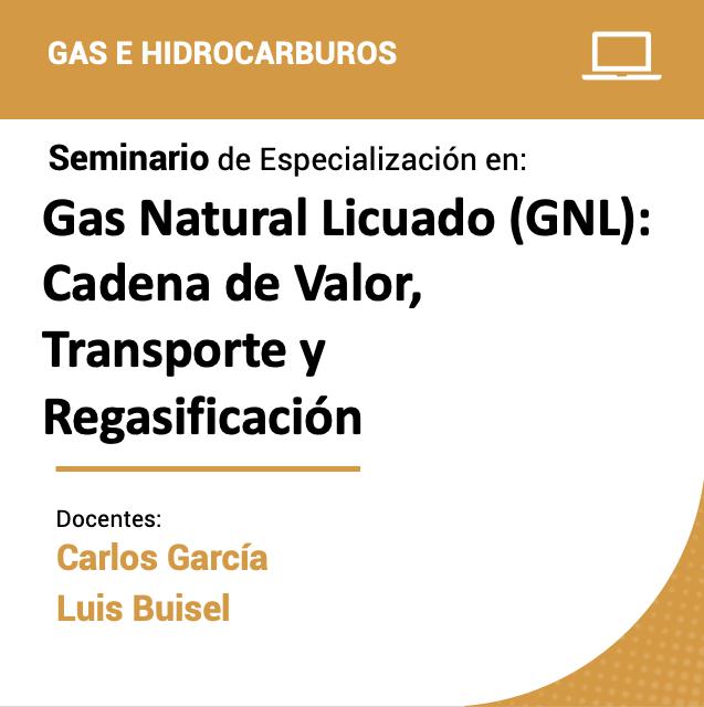 Seminario de Especialización en Gas Natural Licuado (GNL): Cadena de Valor, Transporte y Regasificación