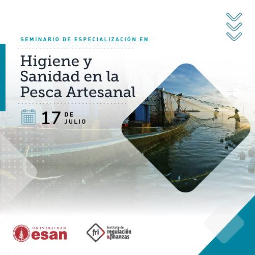 Seminario de Especialización en Higiene y  Sanidad en la  Pesca Artesanal