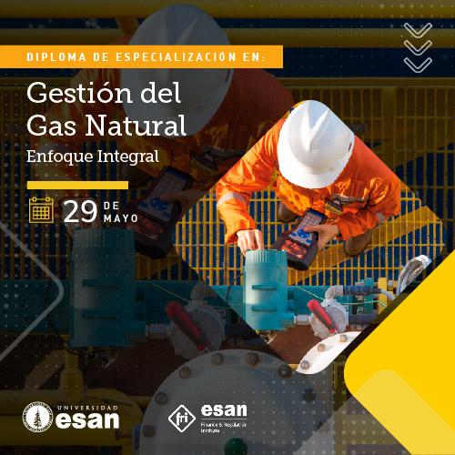 Diploma de Especialización en Gestión del Gas Natural-Cuota Inicial